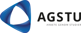 AGSTU – Arbete genom studier Logotyp